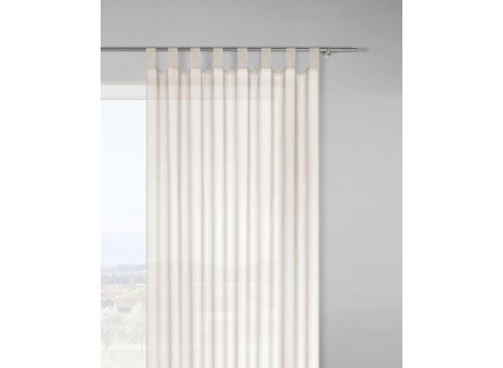 Záves S Pútkami Cenový Trhák - prírodné farby, textil (140/245cm) - Based