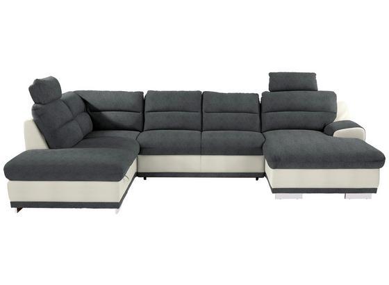 Sedací Souprava Seaside - šedá/bílá, Konvenční, textil (218/334/165cm) - Luca Bessoni