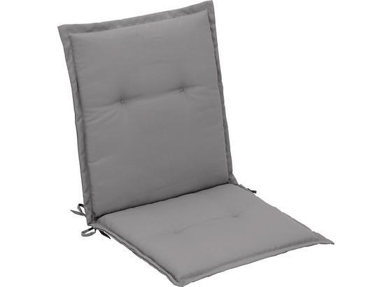 Vankúš Na Kreslo Poppi 1 - svetlosivá, textil (48/96/48cm) - Mömax modern living