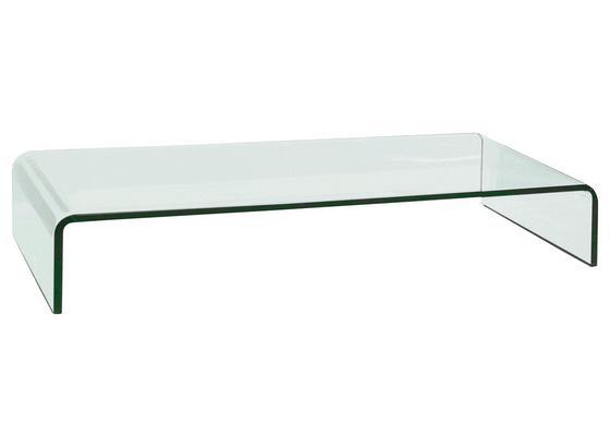Tv Nástavec Hagen - Moderní, sklo (90/11/25cm)