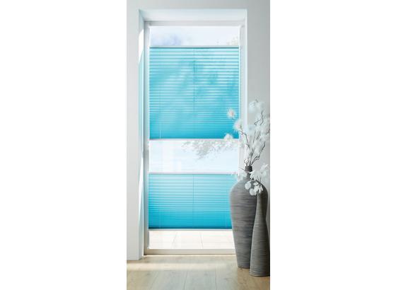Plisé Žalúzie Free - petrolejová, textil (80/130cm) - Premium Living