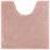 Wc Předložka Nelly -top- - růžová, textil (50/50cm) - Mömax modern living