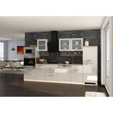 Küchenblock Mailand Gsp B: 340 cm Weiss - Eichefarben/Weiß, Basics, Holzwerkstoff (340/200/60cm) - MID.YOU
