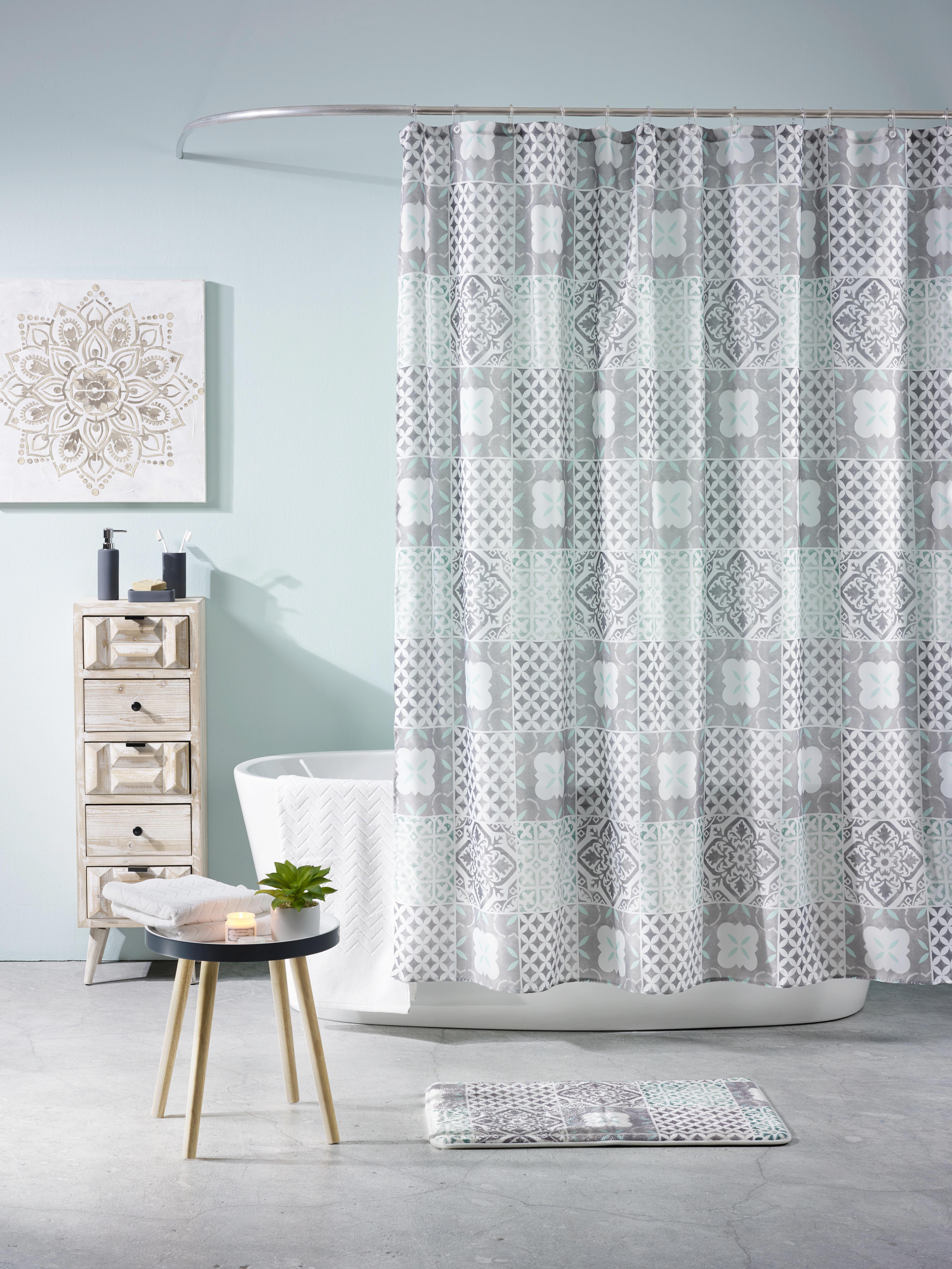 Předložka Koupelnová Marrakesh - bílá/šedá, Lifestyle, textil (45/75cm) - MÖMAX modern living