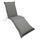 Liegenauflage Premum T: 190 cm Grau - Grau, Basics, Textil (50/8-9/190cm) - Ambia Garden