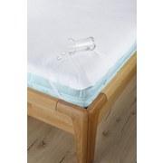 Matratzenschoner Silke 160x200cm - Weiß, KONVENTIONELL, Textil (160/200cm) - Primatex