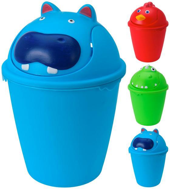 Szemetes Kuka Pink/kék/zöld - konvencionális, műanyag (23,5/35cm)