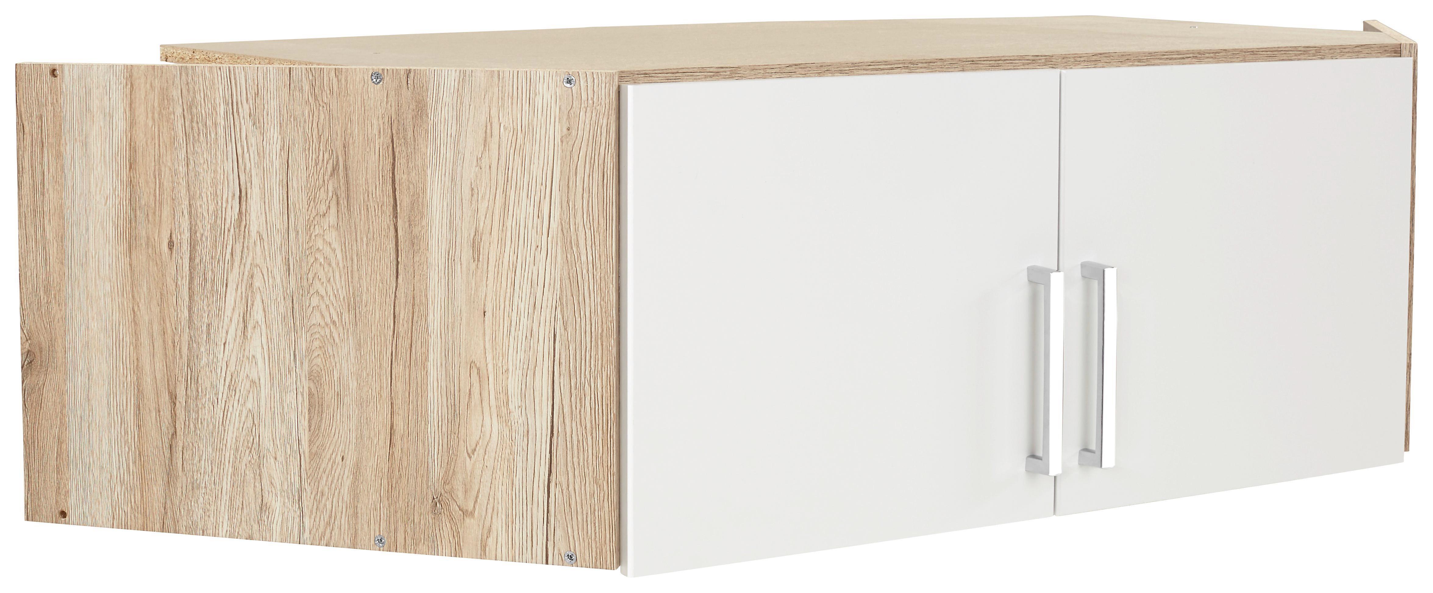Szekrényrátét 2 Ajtós Wien Sarokszekrényhez - tölgy színű/fehér, konvencionális, faanyagok (120/39/54cm)