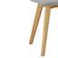 Jedálenská Stolička Tim - svetlosivá/farby buku, Moderný, drevo/textil (43/88/53,5cm) - Modern Living