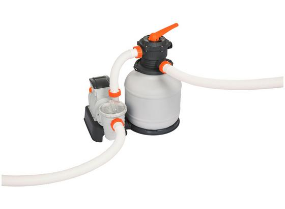 Sandfilterpumpe 2000 Gal Sand Filter - Orange/Weiß, MODERN, Kunststoff/Metall (55,5/44/60cm) - Bestway