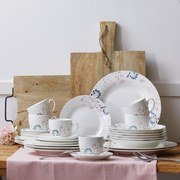 Servis Kombinovaný Blossoms - Multicolor, Romantický / Rustikální, keramika - Mömax modern living