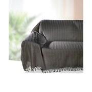 Überwurf Irina - Grau, KONVENTIONELL, Textil (210/260cm) - OMBRA