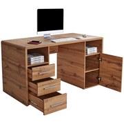 Schreibtisch Fontana Ftb05 - Eichefarben, MODERN, Holzwerkstoff (150/75,5/60cm)