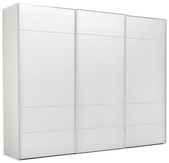 Skriňa S Posuvnými Dvermi Sonate Lucca - biela, Štýlový, kompozitné drevo/sklo (298/240/68cm) - Premium Living