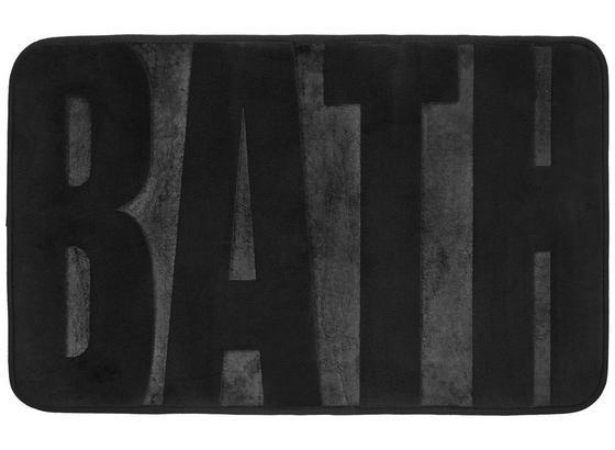Rohožka Do Kúpeľne Bath - antracitová, Moderný, textil (50/80cm) - Mömax modern living