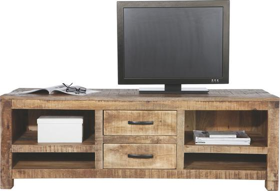 Komoda Lowboard Industry - přírodní barvy, Basics, dřevo (150/50/55cm) - JAMES WOOD