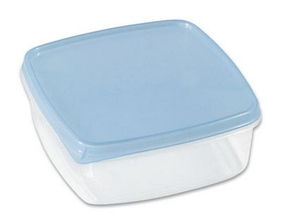Frissentartó Doboz 0,3 Liter - tiszta/kék, konvencionális, műanyag (11/4,4/11cm)