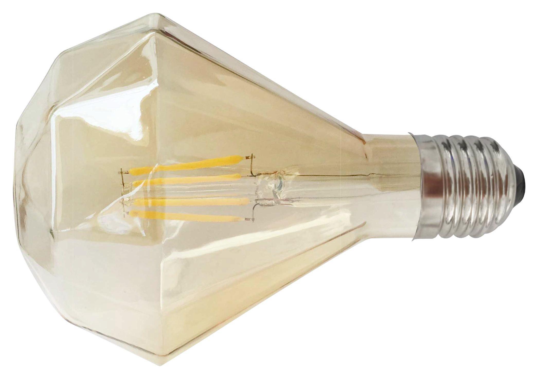 Dekorační Žárovka C80325mm - barvy zlata, sklo (9,5/13,6cm) - MÖMAX modern living