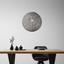 Svítidlo Závěsné Sophia Ø 30 Cm, 60 Watt - šedá, Lifestyle, textil (30cm) - Mömax modern living