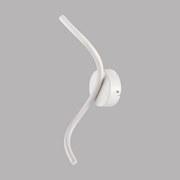 LED-Wandleuchte Harmonie - Weiß, MODERN, Kunststoff/Metall (36cm)
