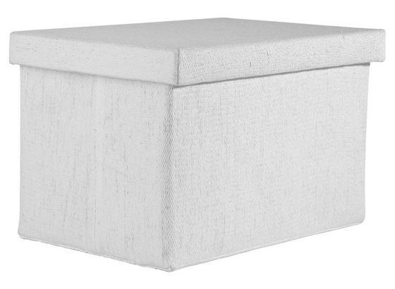 Skládací Krabice 'cindy' -ext- - bílá, Moderní, papír/umělá hmota (38/26/24cm) - Mömax modern living