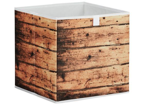 Box Úložný Poppi 4 -sb- - přírodní barvy, Moderní, karton/textilie (32/32/32cm) - Mömax modern living