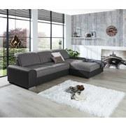 Sedací Souprava Malaga - tmavě šedá/barvy grafitu, Konvenční, kompozitní dřevo/textilie (286/203cm)