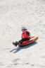 Snowtube Flurryz Sled - Gelb/Rot, MODERN, Kunststoff (48/107cm) - Bestway