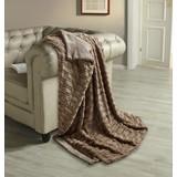 Wohndecke Lilly - Taupe, ROMANTIK / LANDHAUS, Textil (150/200cm) - JAMES WOOD