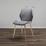 Jedálenská Stolička Lene - medená/sivá, Moderný, kov/drevo (45/87/55cm) - Modern Living
