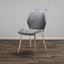 Jídelní Židle Lene - šedá/měděné barvy, Moderní, kov/dřevo (45/87/55cm) - Modern Living