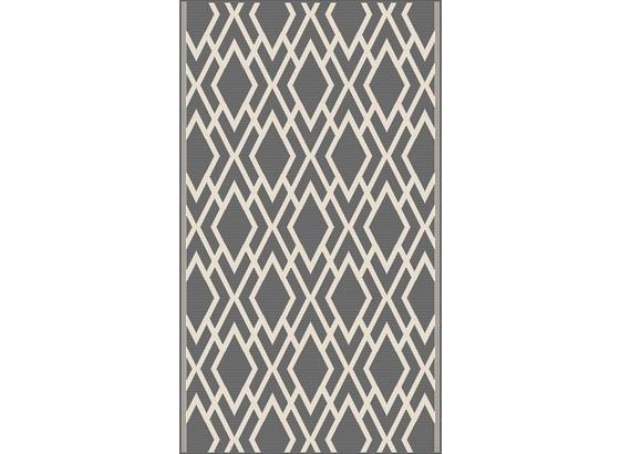 Koberec Tkaný Na Plocho Edgar 2 - barvy stříbra/krémová, Moderní, textil (100/150cm) - Mömax modern living