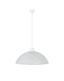 Függőlámpa Vera - Fehér, konvencionális, Műanyag/Üveg (40/115cm)