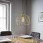 Závěsné Svítidlo Yanis - bronzová, Moderní, kov/umělá hmota (30/135cm) - Mömax modern living