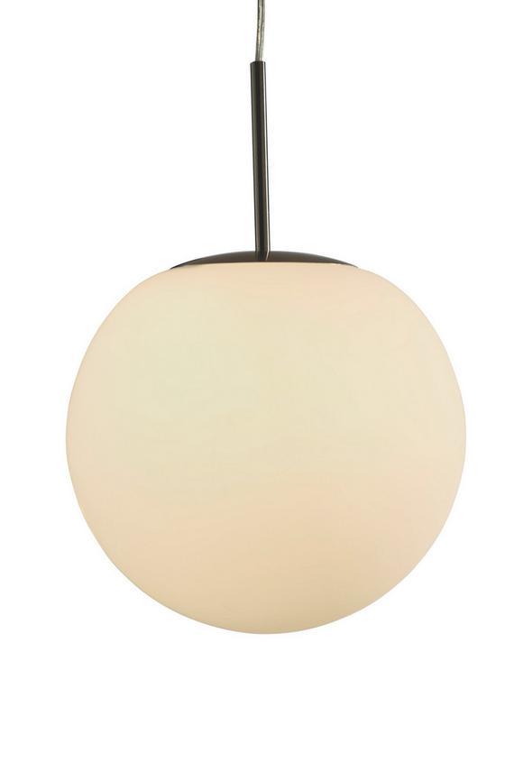 ZÁVESNÁ LAMPA BALLA - opál, Konvenčný, kov/sklo (30/32cm) - MÖMAX modern living