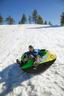 Snowtube Winter Rush Covered Tube - Gelb/Schwarz, MODERN, Kunststoff (142/44cm) - Bestway