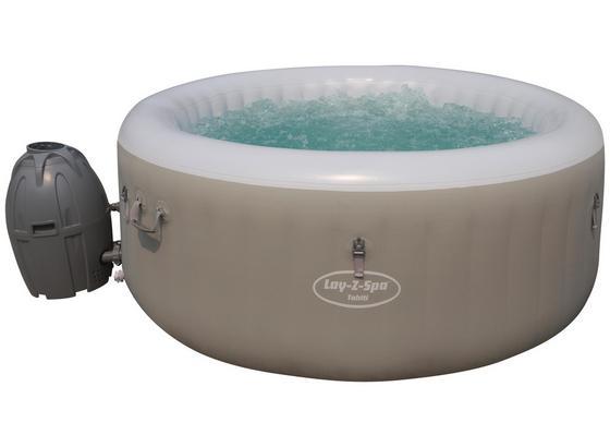 Whirlpool Aufblasbar Lay-Z-Spa Tahiti Ø180x H 66cm 54186 - Grau, MODERN, Kunststoff/Metall (180/66cm) - Bestway
