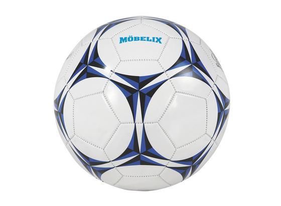 Futbalová Lopta 'bobby' - modrá/čierna, Konvenčný, umelá hmota (67-69cm)
