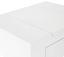 Schminktisch Stockholm 60cm Weiß - Naturfarben/Weiß, MODERN, Glas/Holz (60/75/40cm) - Ombra