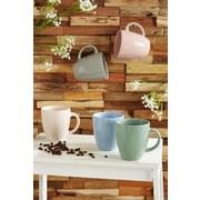Kaffeebecher Fiorella - Mintgrün, KONVENTIONELL, Keramik (0,3l) - Ombra
