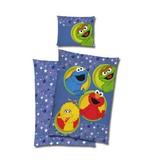 Bettwäsche Sesam Straße Stars 140/200cm Multicolor - Multicolor, Design, Textil
