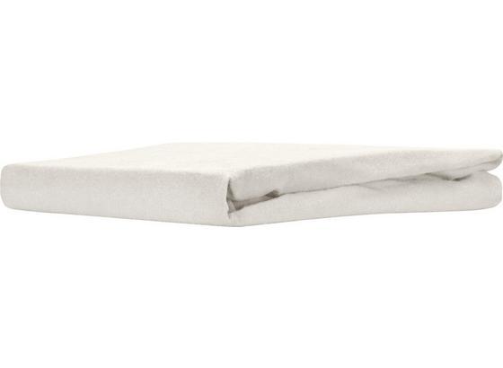 Spannleintuch Regina - Naturfarben, KONVENTIONELL, Textil (180/200cm) - Ombra