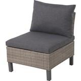 Modul-Lounge Noella - Dunkelgrau/Beige, MODERN, Kunststoff/Textil (62/70/68cm)