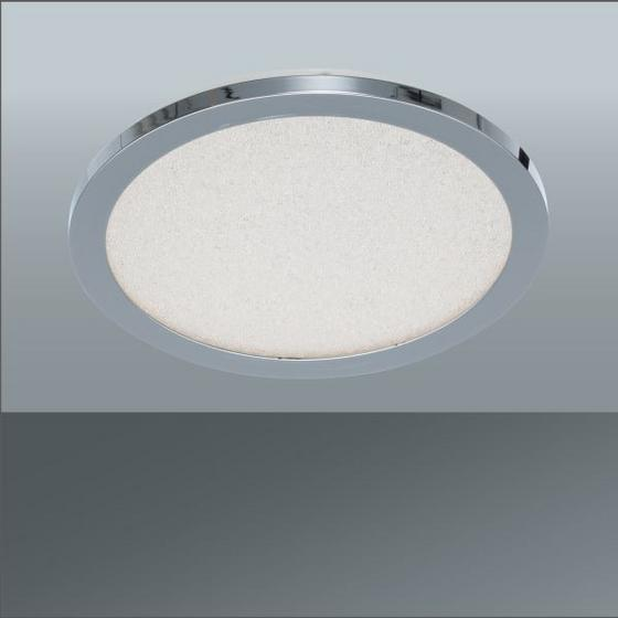LED STROPNÁ LAMPA MALIA, IP44 - Moderný, kov/sklo (30/2,4cm) - MÖMAX modern living