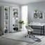 Otočná Židle Phillipp - bílá/černá, Moderní, kov/textil (61cm) - Mömax modern living