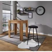 Barová Židle Pub - černá, Moderní, kov/textil (43/77/45cm) - Ombra