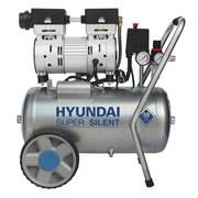 Druckluftkompressor SAC55752 - Silberfarben, KONVENTIONELL, Metall (36/59/55cm) - Hyundai
