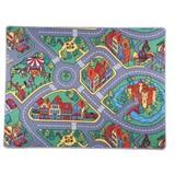 Spielteppich Ralley - KONVENTIONELL, Textil (80/120cm)