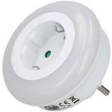 LED-Dekoleuchte 05324 - Weiß, Basics, Kunststoff (8.2/8.2/6.5cm) - Grundig
