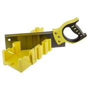 Gehrungslade mit Rückensäge - Gelb, MODERN, Kunststoff/Metall (44/11,5/15cm) - SUKI